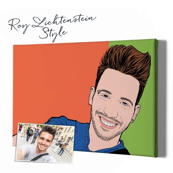 Roy Lichtenstein Stil